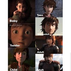 hiccup has grown up. actually he's a teen in the third pick to Httyd Dragons, Dreamworks Dragons, Dreamworks Animation, Disney And Dreamworks, Hiccup And Toothless, Hiccup And Astrid, Toothless Dragon, 9gag Funny, Memes Marvel