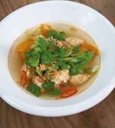 Thailändischer Fischeintopf