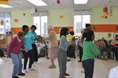 Alzheimer's Community Care offers a variety of activities for patients. #Music Friday is so much fun! #alz #compassionate #care