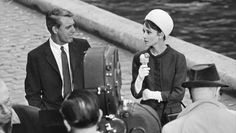 Audrey with Cary Grant en 'Charada'