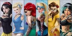 Disney Princesses Gone Wild!