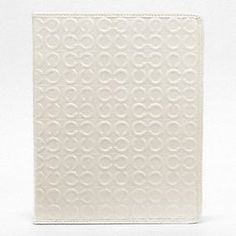 Julia Embossed Patent iPad Tablet Cover by Coach
