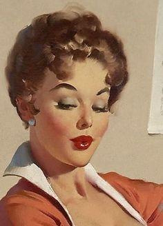 1950's Elvgren Pin-Up Girl Poster