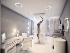 Checkup-room-interior-design - Stylish Medical Surgery Clinic Design – View Home Trends