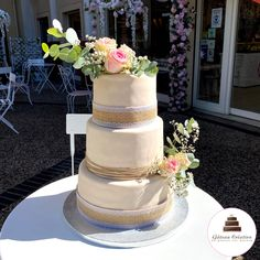 Macaron, Wedding Cakes, Creations, Desserts, Food, Lace Embroidery, Sugar Flowers, Cherry Cake, Wedding Gown Cakes