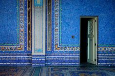 They're beautiful, meaningful or just fun. Blue Mosaic, Marble Mosaic, Architecture Program, San Simeon, San Luis Obispo County, Exotic Places, Elements Of Design, Glass Wall Art, Beautiful Space