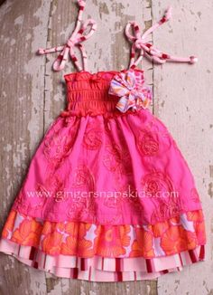 birthday girl's outfit?! Must have one made!! I am in love!