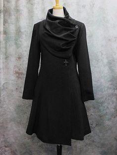 Moi-meme-Moitie: Drape Half Coat