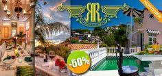 Hotel Rivera del Río en Puerto Vallarta - $1,369 en lugar de $2,739 por 1 Día y 1 Noche en Habitación Estándar con Desayuno Incluido para 2 Personas Click http://cupocity.com