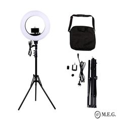 Camera Photo Studio Phone Video 18 inch 480 LED Ring Light Photography Dimmable Ring Lamp with Tripod Stand Photography Tools, Cute Photography, Photography Lighting, Led Ring Light, Lamp Light, Cheap Photographers, Ring Lamp, Ceiling Fan Chandelier, Cable