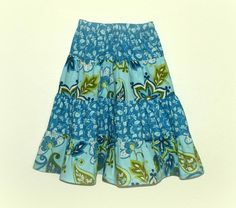4 Tier Twirl skirt pattern, Size 1 to 10 | Craftsy