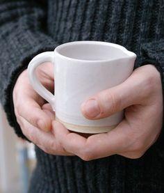 handmade pouring jug