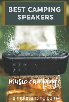 Kayak Camping Gear Camping Gear You Need! See the best waterproof and bluetooth speakers best picked for camping experiences. Long battery life and durability to last a life time! Big Speakers, Cool Bluetooth Speakers, Camping Gadgets, Camping Hacks, Best Outdoor Speakers, Waterproof Speaker, Kayak Camping, Speaker Design, Camping Supplies