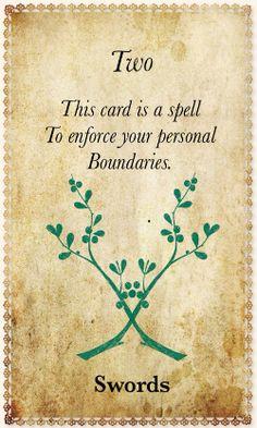 White Magic Tarot Spell Cards