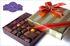 Discover New York's best gourmet chocolate gift boxes, chocolate baskets, and assortments from Li-Lac Chocolates. Place your order for a premium chocolate box! Chocolate Basket, Chocolate Gift Boxes, Original Recipe, Truffles, 1920s, Product Launch, Anniversary, Gift Wrapping, Cool Stuff