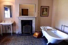 Beautiful antique themed bathroom.