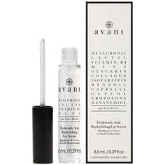 Avant Hyaluronic Acid Replenishing Lip Serum The Hyaluronic Acid Replenishing Lip Serum is designed to plump whilst intensively nourishing the lips. The Replenishing Serum has been formulated with innovative ingredients including Hyaluronic and L Lactic Acid, Hyaluronic Acid, Chemical Peel, Perfume, Chemist, Skin Firming, My Face Book, Collagen, Health And Beauty