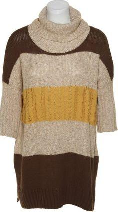 ROMEO & JULIET COUTURE Mix Knit Stripe Oversize Sweater[RJ26433]BWNBEGMUS,SM Romeo & Juliet Couture http://www.amazon.com/dp/B00FESX7BW/ref=cm_sw_r_pi_dp_E0s4tb0B7JMAG