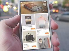 On Sale app sporting slick ecommerce interface | szTeino links b/f: https://www.pinterest.com/pin/368943394455789842/