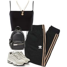 A fashion look from October 2017 featuring adidas Originals, NIKE sneakers and Alexander Wang shoulder bags. Browse and shop related looks.