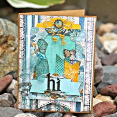 Love all the fussy cutting Rhonda Van Ginkel did when she designed this card with the Somewhere In Time collection. Scrapbook Journal, Scrapbook Cards, Scrapbooking, Alphabet Stamps, Butterfly Images, Somewhere In Time, Handmade Card Making, Send A Card, Beautiful Handmade Cards