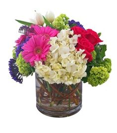 Central Park by Cactus Flower - Scottsdale AZ Florist $74.99 #mother's day flowers https://www.cactusflower.com/ProductDetail-15046-Local+Delivery-Mothers+Day.html
