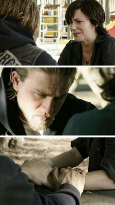 Tara and Jax. Even though they had there ups n down they both loved each other…