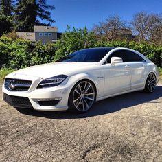 mrxlifestyle: Mercedes-Benz CLS63 AMG sedan