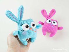 Free crochet Easter bunny pattern