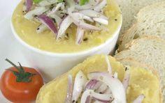 Συνταγή για φάβα Σαντορίνης με κρεμμύδια