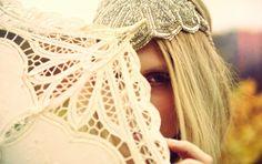 Unique Headpieces by Little Doe For Bohemian Brides