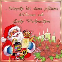 4. Advent Gästebuch Bilder - Dir-einen-schoenen-4-advent-und-frohe-weihnachten.gif - GB Pics