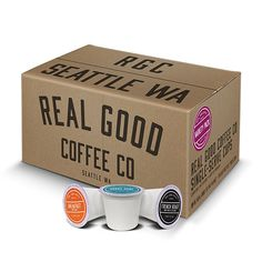Real Good Coffee Co. Variety Pack
