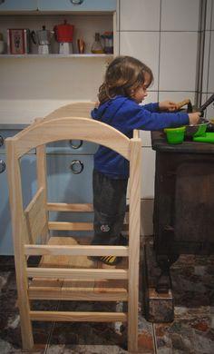 Torre de aprendizagem Montessori