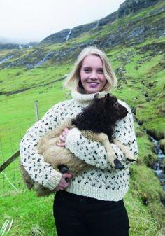 Strik en smuk færøsk sweater med mønster