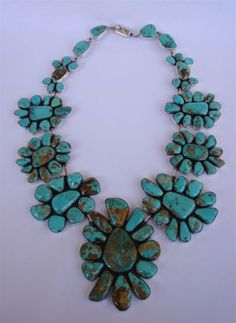 Necklace | Federico Jimenez. Sterling silver and turquoise