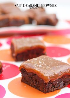 Salted Caramel Brownies Recipe on Yummly