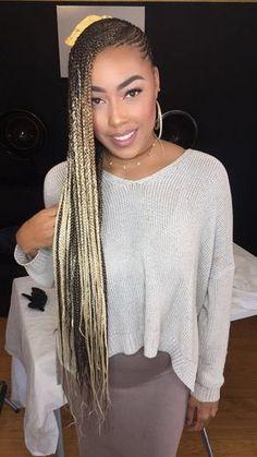 Trendy Ideas For Braids Cornrows Protective Styles Love Box Braids Hairstyles, Lemonade Braids Hairstyles, My Hairstyle, Beyonce Hairstyles, Twist Hairstyles, Dance Hairstyles, Simple Hairstyles, Layered Hairstyles, African Hairstyles