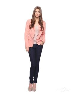 Nocth Lapel One Button Pink Women Business Suits Jackets  http://www.honeybuy.com/c/Womens-Suits?utm_source=LJYPIN_medium=LJYPIN_campaign=LJYPIN