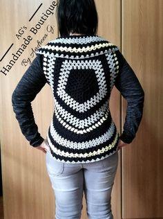 Christmas Sweaters, Vest, Facebook, Crochet, Handmade, Fashion, Moda, Hand Made, Fashion Styles