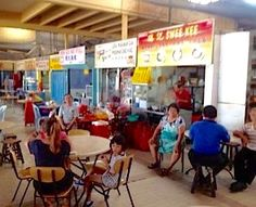 Seremban Market Hawker Centre. I took this photo recently when I went there for Hakka beef noodles.