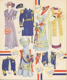 Paper Dolls~Army and Navy Party - Bonnie Jones - Picasa Web Albums