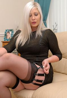 Loves fishnet pantyhose even