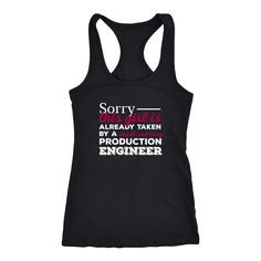 Production Engineer T-shirt, hoodie and tank top. Production Engineer funny gift idea.