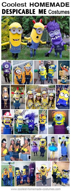 Coolest Homemade Despicable Me and Minion Costume Ideas - Halloween Costume Contest