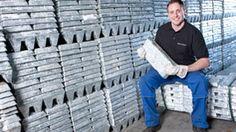 Raw material: zinc