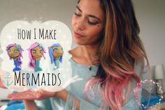 How I Make Mermaids - Polymer Clay Tutorial ♡