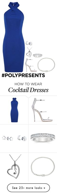 """#PolyPresents: Party Dresses"" by shy-rebel on Polyvore featuring Giuseppe Zanotti, Jewel Exclusive, Unwritten, Kate Spade, contestentry and polyPresents"
