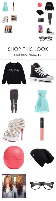 """""""Its just another rp set"""" by funny-babe02 on Polyvore featuring Converse, Topshop, NARS Cosmetics and Eos"""