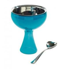 Papillon Interiors - Alessi Big love, Ice cream bowl and spoon, £29.50 (http://www.papilloninteriors.co.uk/alessi-big-love-ice-cream-bowl-and-spoon/)